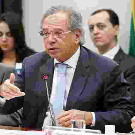 O ministro Paulo Guedes - Por Rodrigo Viga Gaier