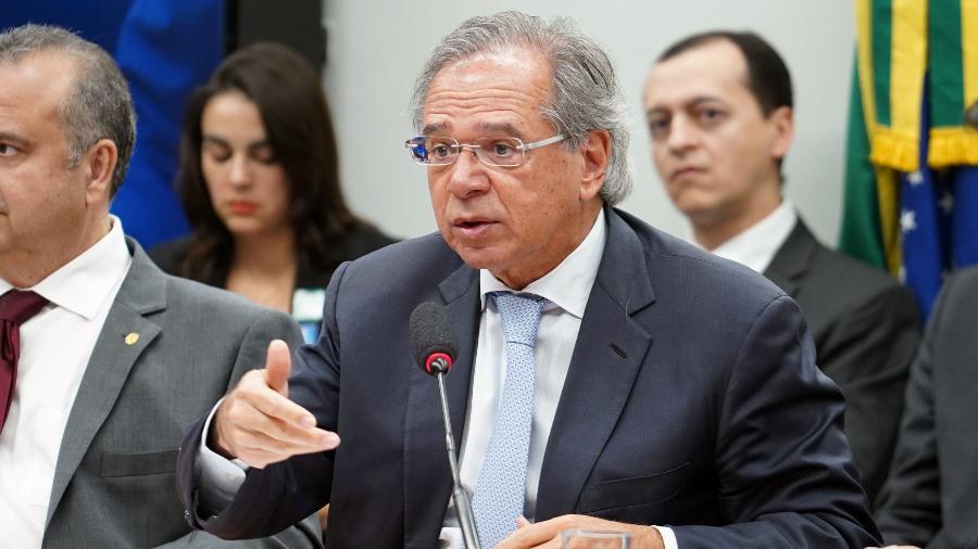 O ministro Paulo Guedes - Pablo Valadares/Câmara dos Deputados