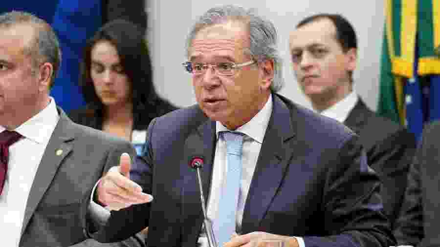 Equipe do ministro Paulo Guedes analisa a proposta - Pablo Valadares/Câmara dos Deputados