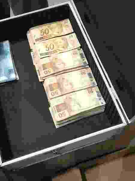 Dinheiro apreendido na Operação Spoofing - Divulgação/PF
