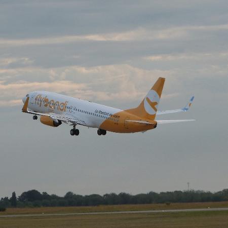Argentina Flybondi foi a mais recente a inaugurar voos de baixo custo no Brasil - Divulgação