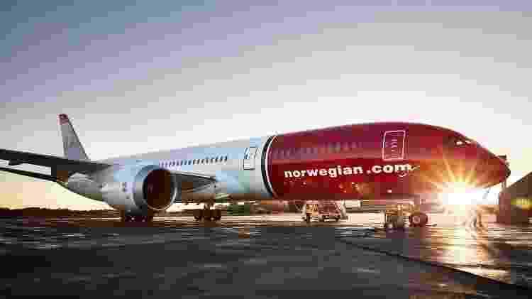 Norwegian foi eleita a melhor low cost do mundo para voos de longo alcance - Divulgação