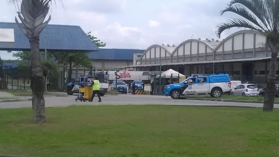 Terminal de cargas da Latam no Aeroporto do Galeão. Local foi alvo de uma tentativa de assalto em outubro - Reprodução/internet