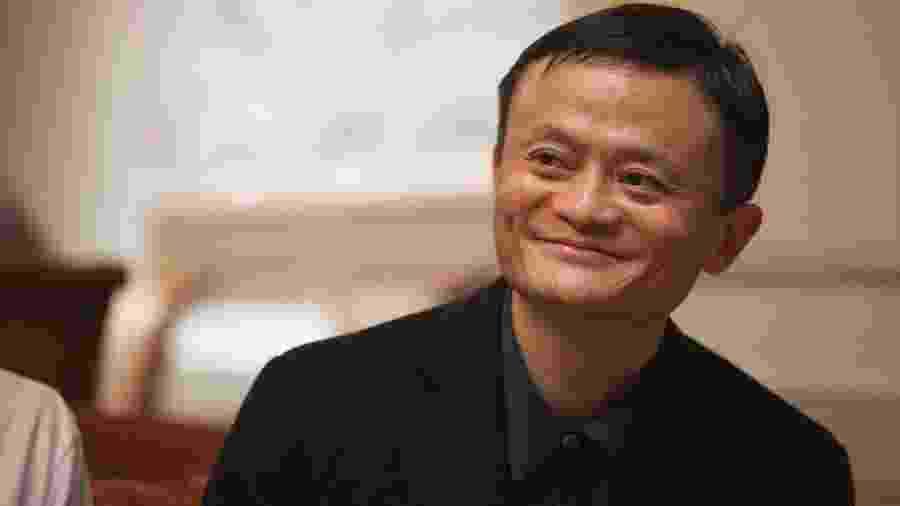 Jack Ma, um dos fundadores e ex-CEO do Grupo Alibaba e criador da fundação que leva seu nome - Alibaba Group