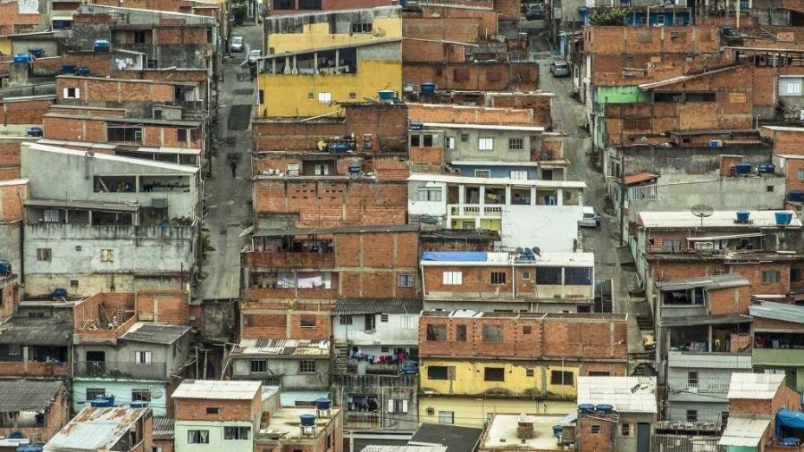 Comunidade em Perus, na zona norte de São Paulo - Jardiel Carvalho - 4.set.2019/Folhapress