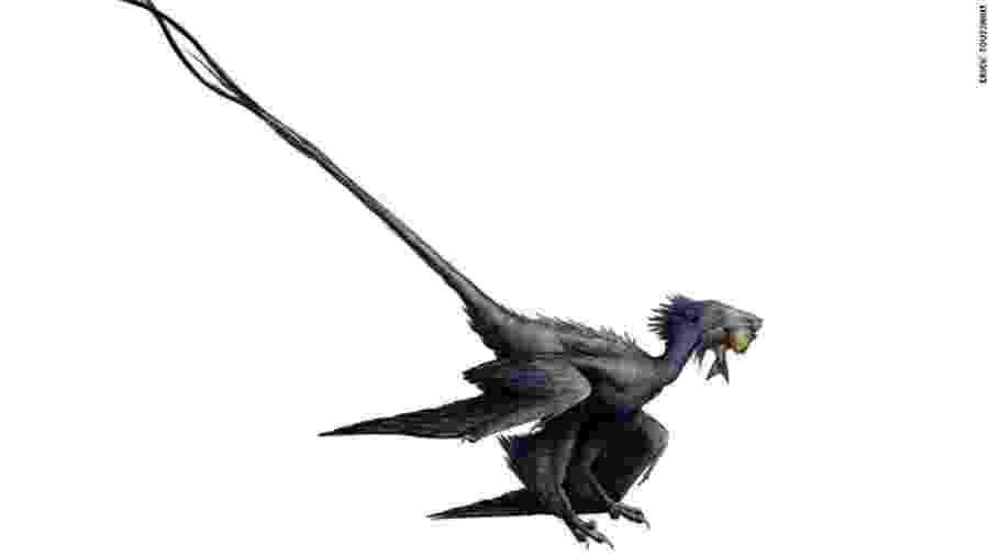 Wulong bohaiensis, o dinossauro chamado de dragão dançarino - Divulgação