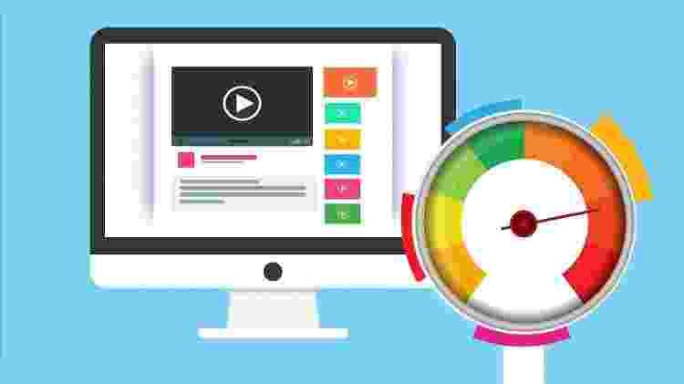 ilustração velocidade de internet computador - Mohamed Hassan/ Pixabay - Mohamed Hassan/ Pixabay