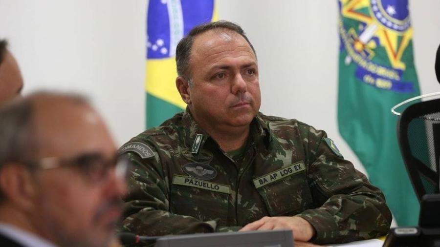 Pazuello é general de intendência, posto que alcança apenas três estrelas  - Valter Campanato/Agência Brasil