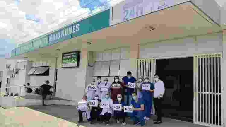 20.mar.2020 -  - Reprodução - 20.mar.2020/Facebook/Hospital Regional Tibério Nunes - Reprodução - 20.mar.2020/Facebook/Hospital Regional Tibério Nunes