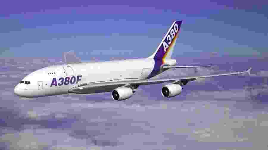 Versão cargueira do Airbus A380 nunca foi produzida - Divulgação