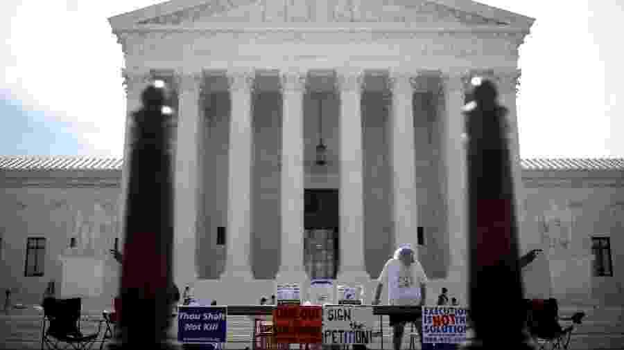 A Suprema Corte decidiu em julho que o país poderia retomar as execuções federais após 17 anos - Getty Images