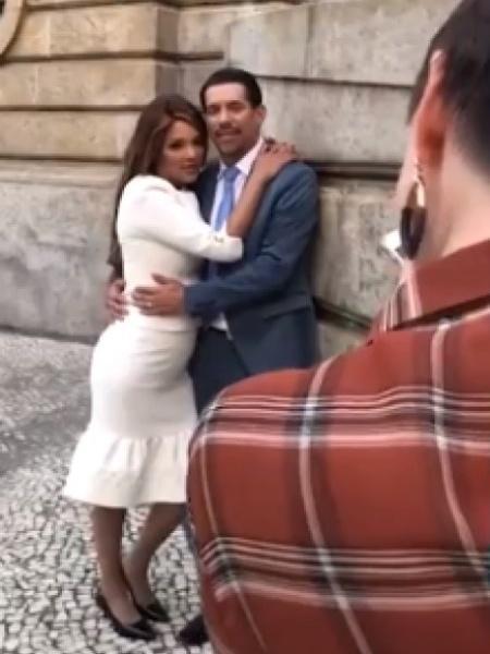 Caso Flordelis: Anderson e deputada fizeram ensaio fotográfico romântico no  centro do Rio de Janeiro três dias antes do assassinato