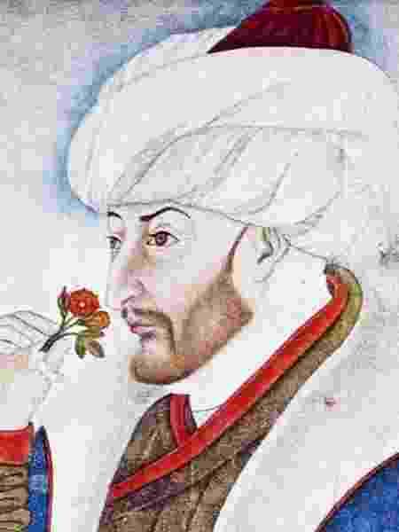 Este é um dos candidatos ao título de responsável pelo fim do Império Romano: sultão Mehmet 2º - GETTY IMAGES