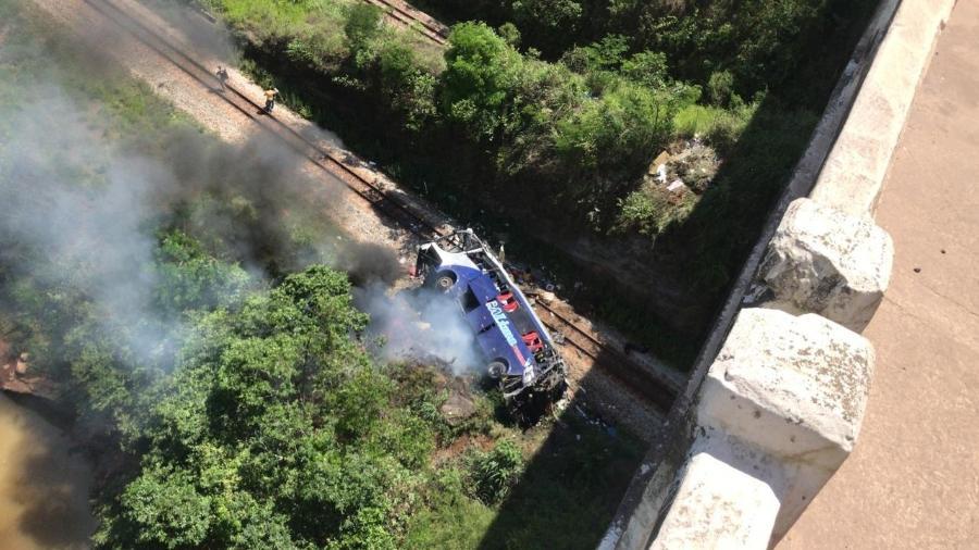 Em 2020, a BR-381 foi a rodovia que registrou o maior número de acidentes: um total 2.145 com vítimas - Divulgação/Corpo de Bombeiros de Minas Gerais