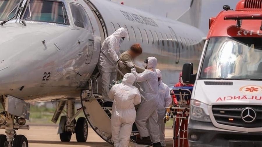Pacientes de Manaus chegam a Teresina; dois vão direto para UTI - Lucas Oliveira