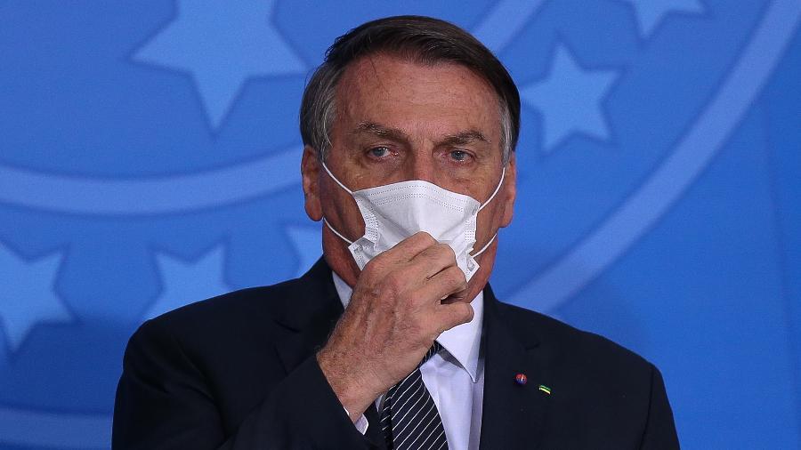 O presidente Jair Bolsonaro criticou CPI por tratamento a Nise Yamaguchi pela CPI - Pedro Ladeira/Folhapress