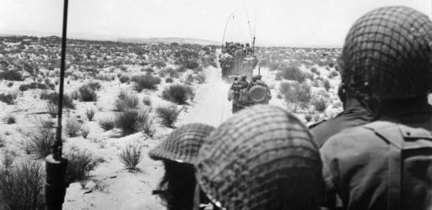 Guerra dos seis dias foi travada entre Israel e nações árabes na década de 60