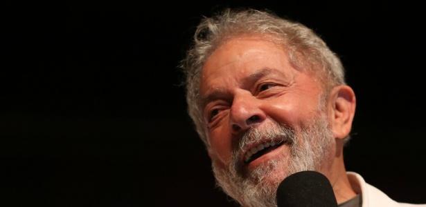 O ex-presidente Luiz Inácio Lula da Silva (PT) participa de ato realizado em Brasília - Dida Sampaio 13.dez.2017/Estadão Conteúdo