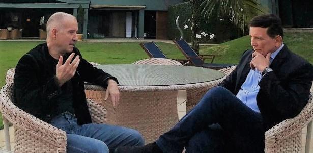 """Eike concede entrevista ao jornalista Roberto Cabrini no """"Conexão Repórter"""", do SBT"""