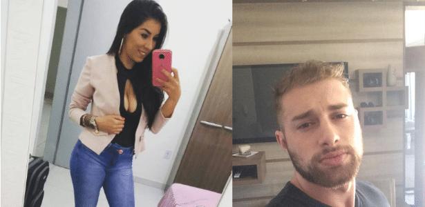 Luana Maikiely Silva Paranhos e Jean Henrique Sperb foram detidos no Egito por suposto tráfico de drogas - Reprodução