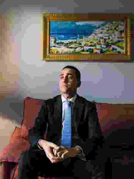O chanceler Luigi Di Maio - Gianni Cipriano/The New York Times