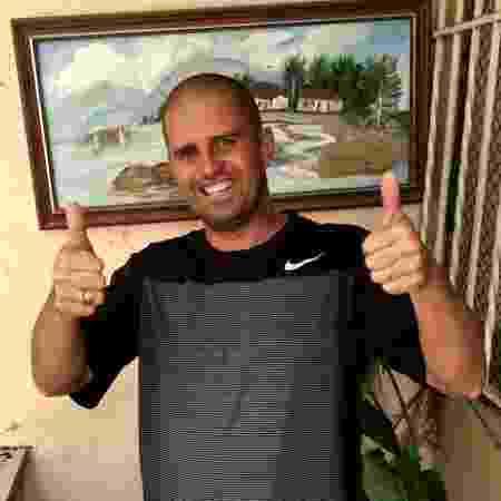 """Leandro Menezes é a voz por trás do áudio do """"Seu Armando"""" - Arquivo pessoal"""