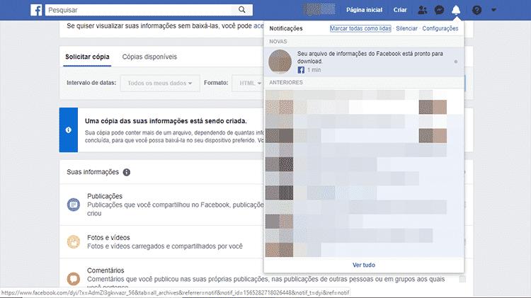 Regate de fotos do Facebook 4 - Facebook/Reprodução - Facebook/Reprodução
