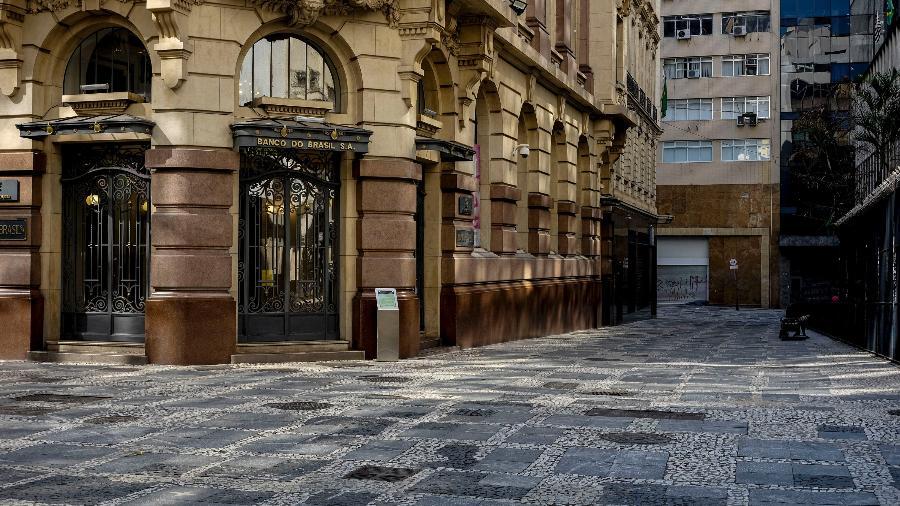 20.mai.2020 - Centro histórico de São Paulo na manhã de quarta-feira, primeiro dia do feriadão na capital - SUAMY BEYDOUN/ESTADÃO CONTEÚDO