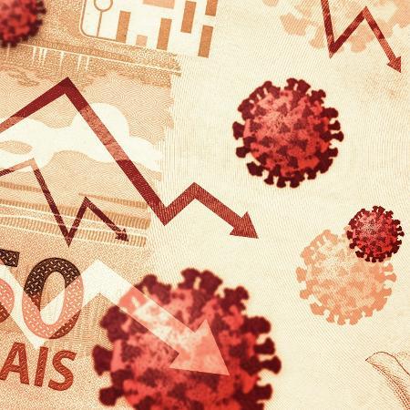 No mês passado, a queda média das receitas das pequenas e médias empresas (PMEs) brasileiras foi de 40% em relação à pré-pandemia - Getty Images