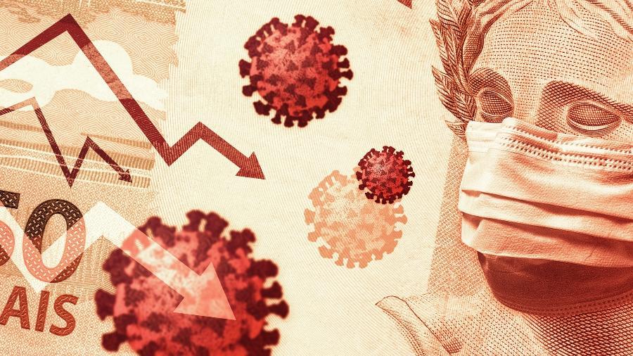 Das empresas que justificaram variação da receita em julho, 26,4% citaram pandemia como principal causa - Getty Images