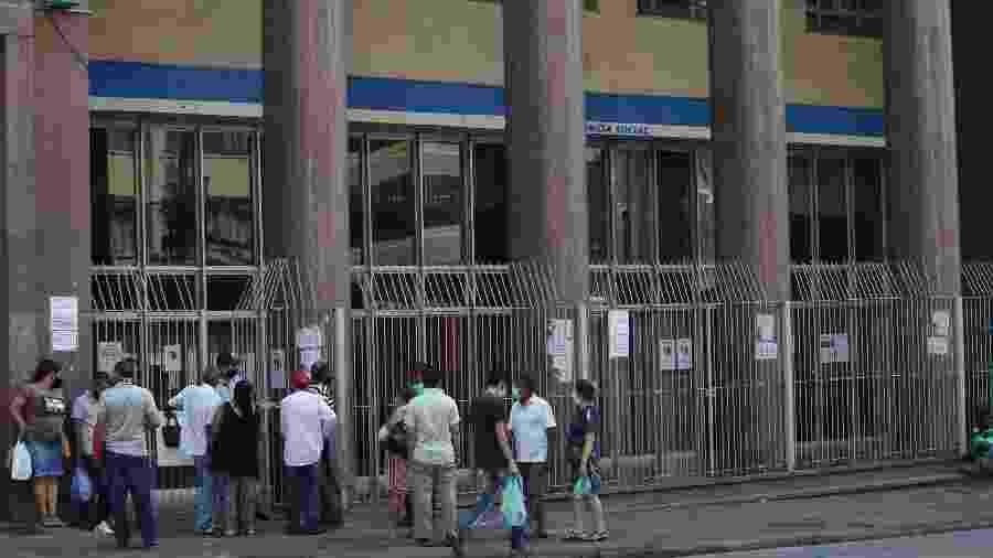 Após suspensão, o INSS retomará parcialmente os atendimentos presenciais em São Paulo, a partir de amanhã - RENATO S. CERQUEIRA/ESTADÃO CONTEÚDO
