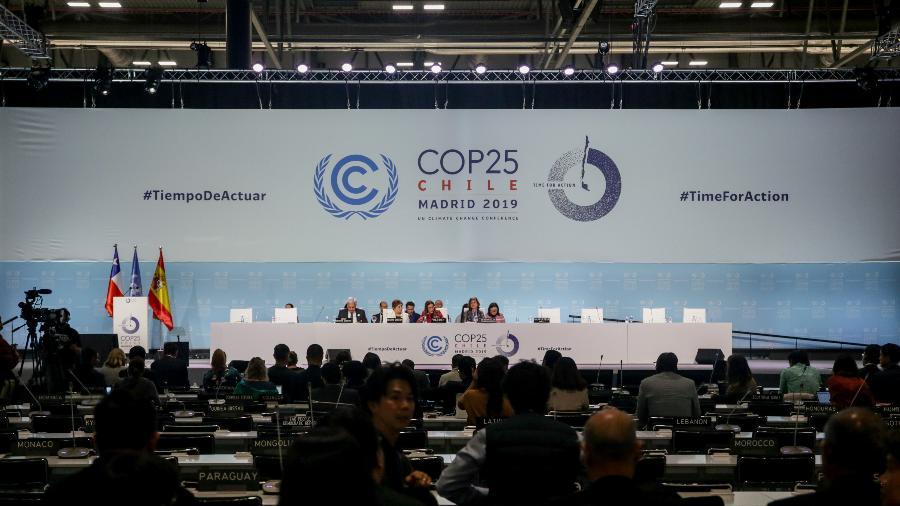 15 dez. 2019 - Reunião da COP 25 em Madri, na Espanha - Ricardo Rubio/Europa Press via Getty Images