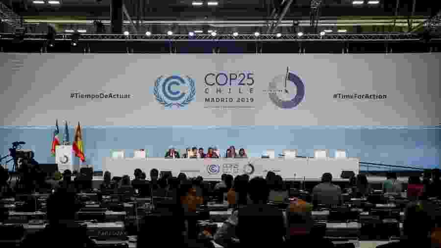 15 dez. 2019 - COP 25 (Cúpula do Clima das Nações Unidas), em Madri, Espanha - Ricardo Rubio/Europa Press via Getty Images