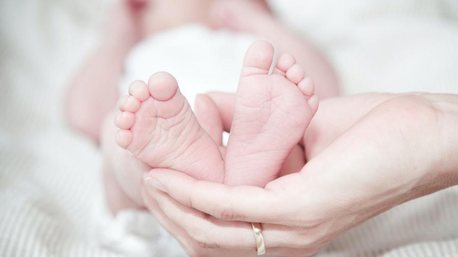 Imagem ilustrativa de um bebê. Mãe pode ter passado anticorpos ao recém-nascido pela placenta - Pexels/Rene Asmussen
