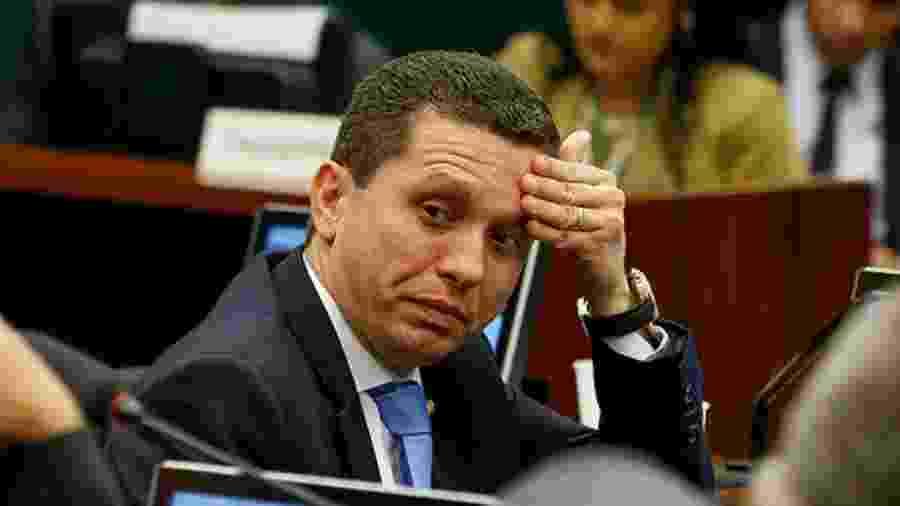 Fausto Pinato, presidente da Comissão de Agricultura da Câmara: indignação com Eduardo Bolsonaro - Pedro Ladeira/Folhapress
