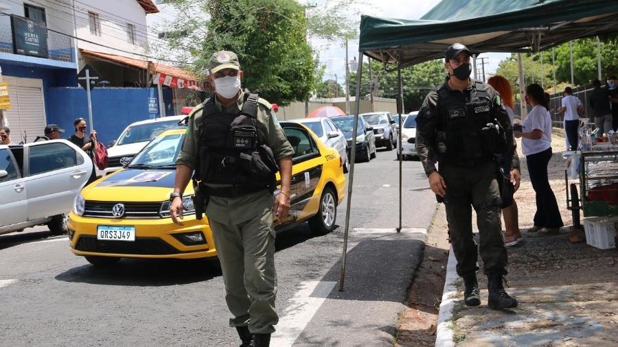 O coordenador operacional da segurança do Enem no Piauí, major Audivan Nunes - Yala Sena/UOL