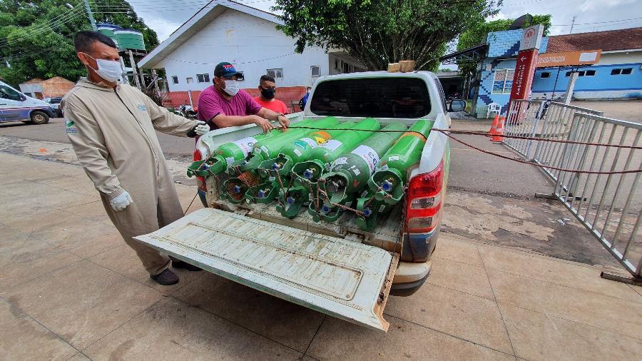 Apesar do abastecimento ter aumentado nos últimos dias, o Amazonas vive uma explosão de casos de covid-19 - Carlos Madeiro/UOL