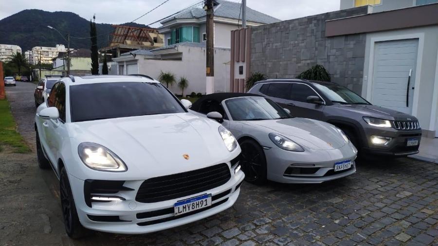 Operação Fomentus apreende carros de luxo em operação no Rio de Janeiro - Divulgação Polícia Civil do Rio de Janeiro