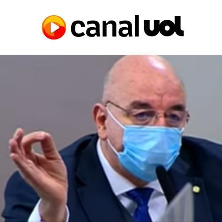 Canal UOL: Osmar Terra na CPI - Reprodução/UOL