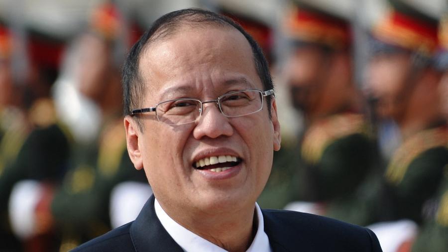 4.nov.2012 - Aquino, que governou arquipélago de 2010 a 2016, era o único filho da ex-presidente Corazón Aquino - Hoang Dinh Nam/AFP