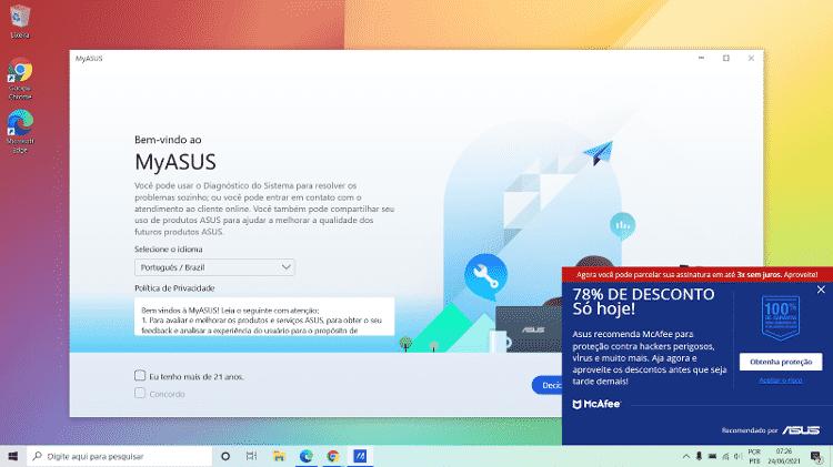 vivobook - Lucas Carvalho/Tilt - Lucas Carvalho/Tilt