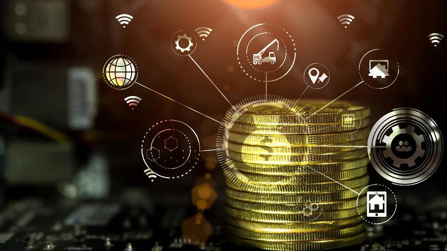 Valor da criptomoeda chegou a subir mais de 30% em poucos minutos - Getty Images