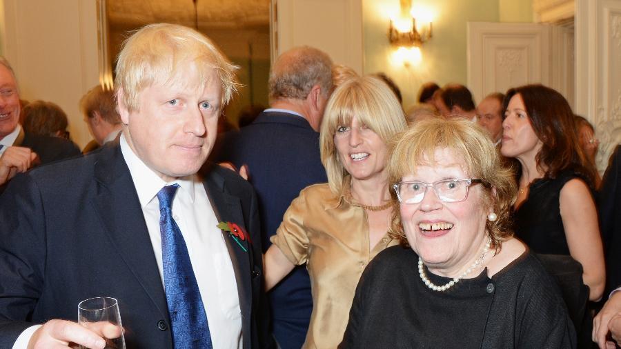 Charlotte Johnson estudou Literatura em Oxford, onde conheceu Stanley, pai de Boris Johnson - David M. Benett/Getty Images