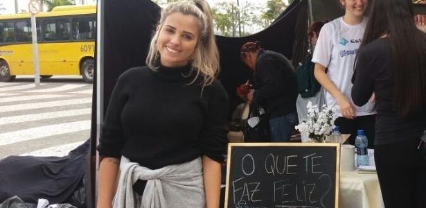 A estudante Jaqueline Soares Lopes foi moradora de rua quando era criança - Aline Torres/UOL