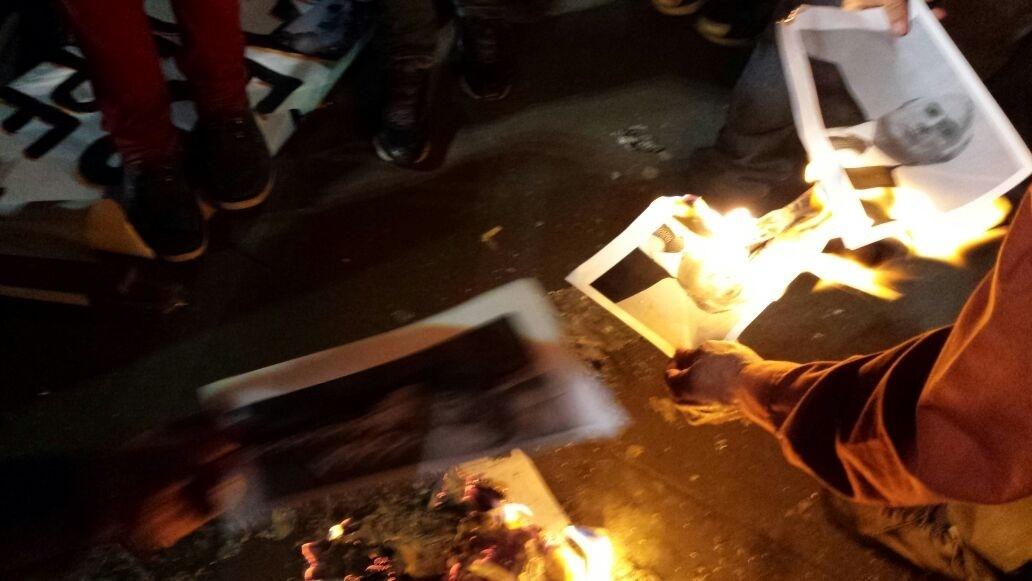 10.jun.2016 - Manifestantes se reuniram na avenida Paulista, em São Paulo, para pedir a saída de Michel Temer (PMDB) da Presidência da República