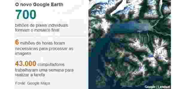 O novo Google Earth - BBC - BBC