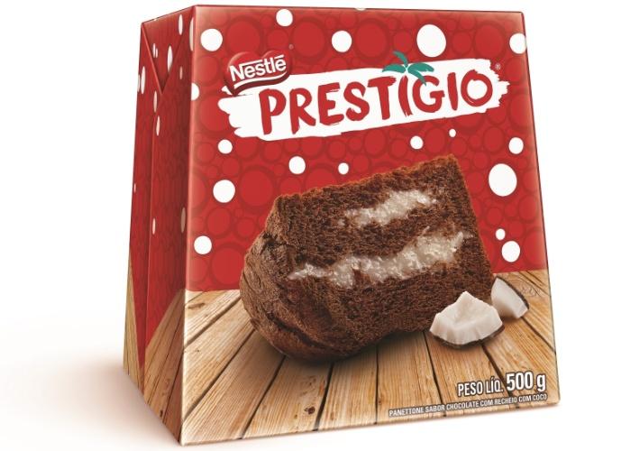 Panetone Nestlé 500g Prestígio R$ 23,99