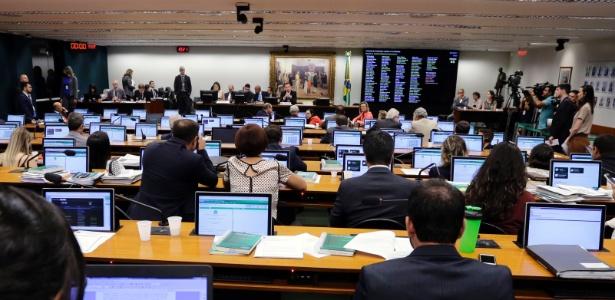 Deputados debatem segunda denúncia contra o presidente Michel Temer na CCJ (Comissão de Constituição e Justiça e de Cidadania) da Câmara dos Deputados