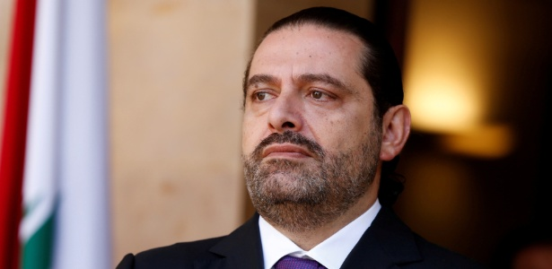 O primeiro ministro do Líbano, Saad Hariri, renunciou ao cargo