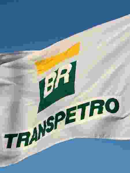 24.nov.2017 - Bandeira com logotipo da Transpetro, subsidiária da Petrobras - Divulgação/Transpetro
